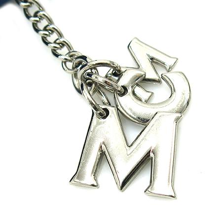 MCM(엠씨엠) 1033061040401 은장 이니셜 참 3단 반지갑