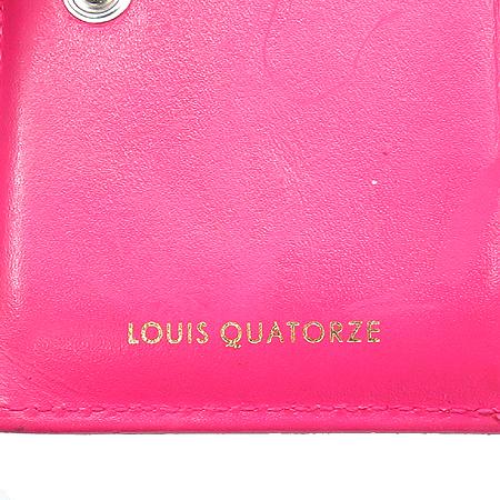 Louis_Quatorze (루이까또즈) 블랙 페이던트 3단 반지갑