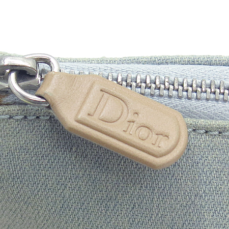 Dior(크리스챤디올) 연청 데님 새들 파우치 숄더백