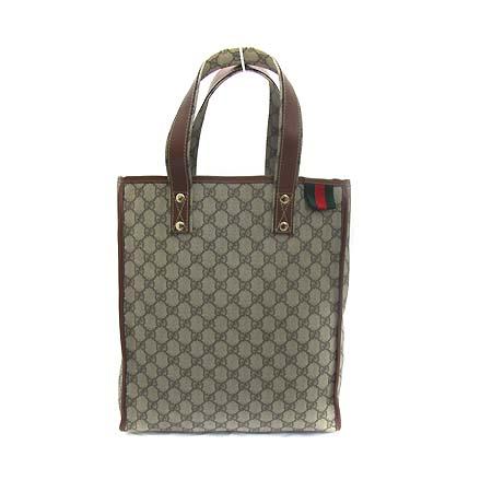 Gucci(구찌) 211135 GG 로고 PVC 토트백