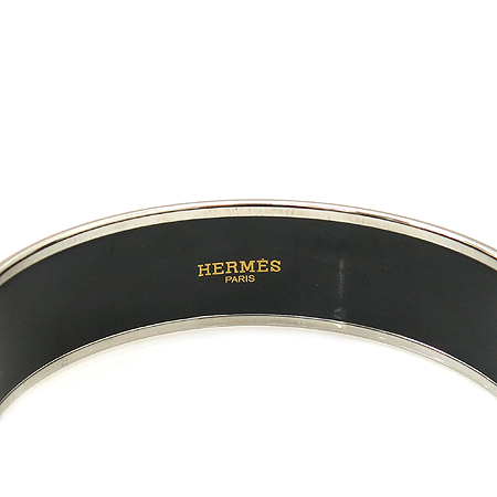 Hermes(에르메스) 에나멜 로고 뱅글 M사이즈 팔찌