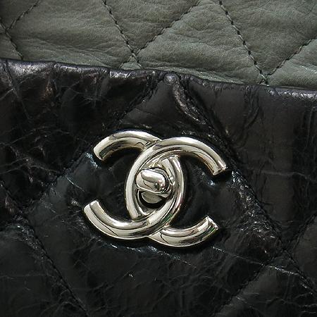 Chanel(샤넬) A47138Y06146 빈티지 블랙 퀼팅 포르투 벨로 은장 체인 2WAY [강남본점] 이미지5 - 고이비토 중고명품
