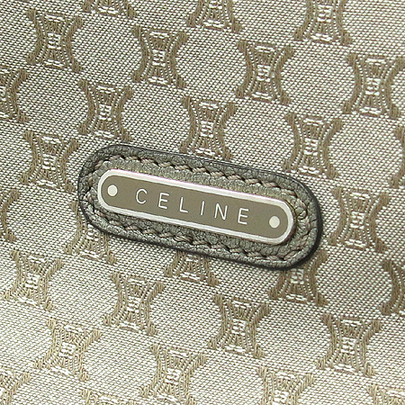 Celine(셀린느) 162602PPJ 메탈릭 패브릭 블라종 토트백