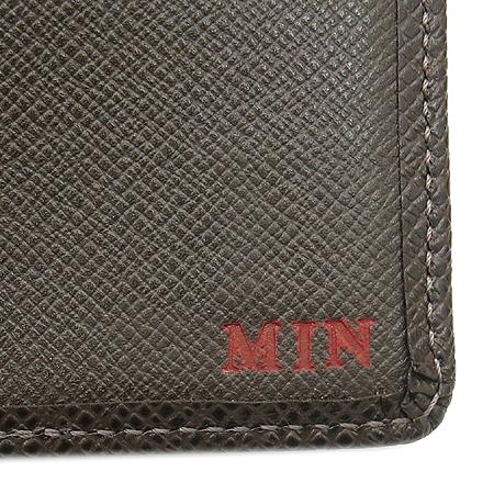 Louis Vuitton(루이비통) M30428 타이가 레더 그리즐리 9 크레딧 카드 슬롯 반지갑 [압구정매장]