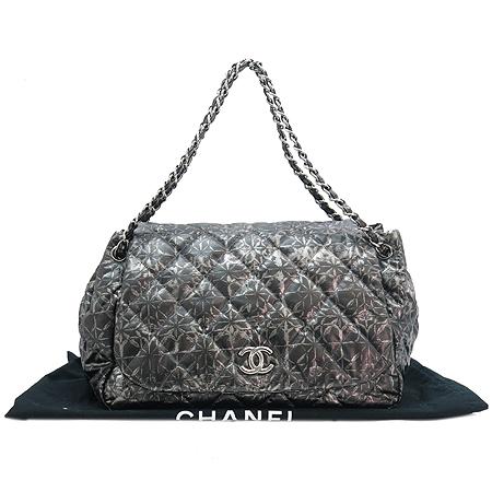 Chanel(샤넬) 은장 coco로고 퀼팅 은장 체인 숄더백 [압구정매장]