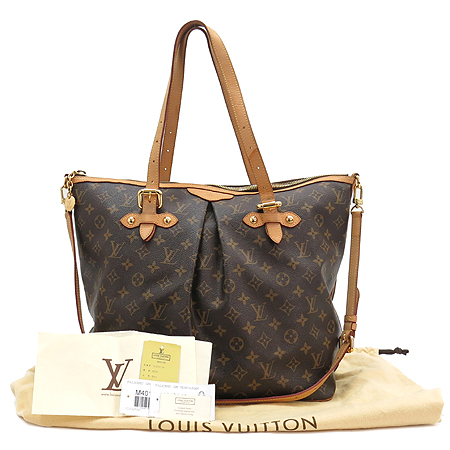 Louis Vuitton(루이비통) M40146 모노그램 캔버스 팔레모GM 2WAY [강남본점] 이미지2 - 고이비토 중고명품