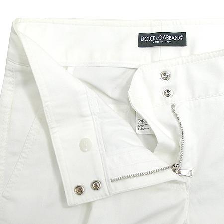 D&G(돌체&가바나) 멀티 포켓 화이트 진 여성용 바지 이미지2 - 고이비토 중고명품