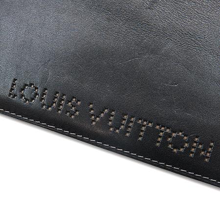 Louis Vuitton(루이비통) 시카고 블랙 레더 장지갑 이미지4 - 고이비토 중고명품