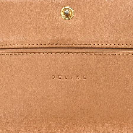 Celine(셀린느) 블라종 로고 스웨이드 장지갑