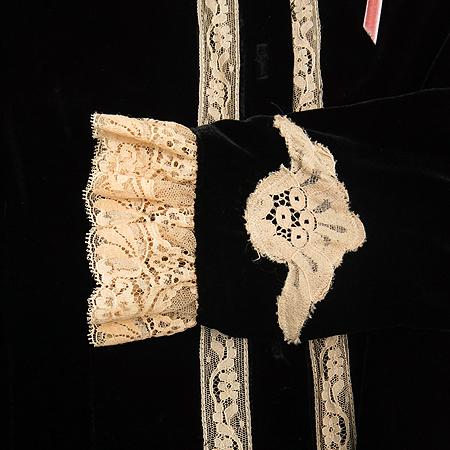 Anna Sui(안나수이) 벨벳 가디건 [동대문점]