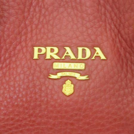 Prada(프라다) BN1713 VIT DAIVO FUOCO 레더 토트백 + 숄더 스트랩 [부천 현대점]