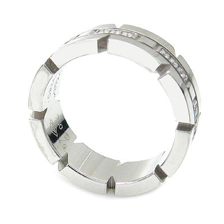 Cartier(까르띠에) B4060100 18K 화이트 골드 탱크 프랑세즈 다이아몬드 반지 - 9호 이미지2 - 고이비토 중고명품