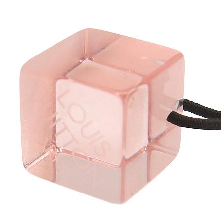 Louis Vuitton(루이비통) 인클루전 핑크 컬러 큐브 헤어 밴드