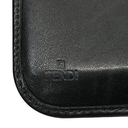 Fendi(펜디) FF 로고 패브릭 짚업 3단 반지갑 [인천점]