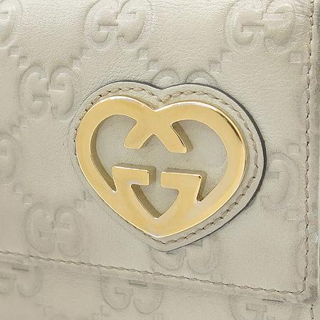 Gucci(구찌) 245728 금장 로고 장식 GG로고 시마 레더 장지갑