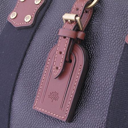 MULBERRY(멀버리) HS6746 블랙 레더 보스톤 토트백