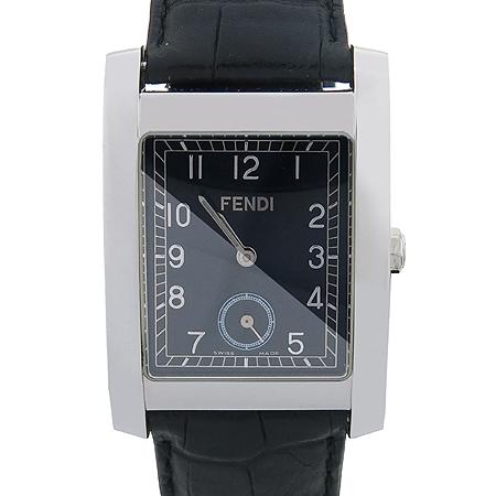 Fendi(펜디) 7000G 스퀘어 쿼츠 가죽밴드 남성용  시계