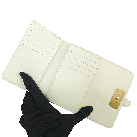 Louis Vuitton(루이비통) M95854 수할리 레더 화이트 르 송튜 월릿 중지갑 [명동매장]