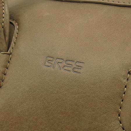 BREE (브리) Valencia2 베이지 컬러 래더 토트백 + 펜슬