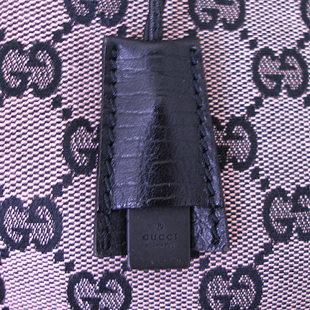 Gucci(구찌) 106495 GG 로고 자가드 뱀부 토트백 이미지3 - 고이비토 중고명품