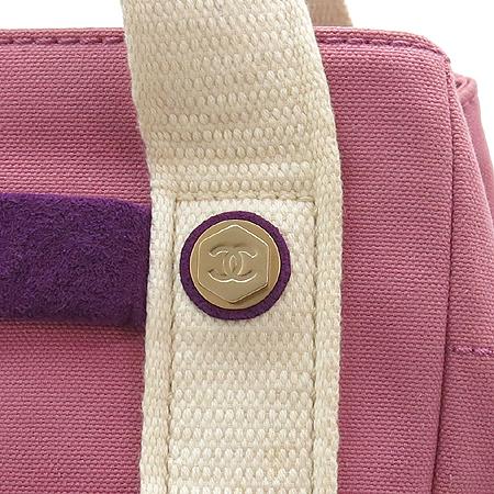 Chanel(샤넬) A24229  스웨이드 스티치 패브릭 바겟 토트백