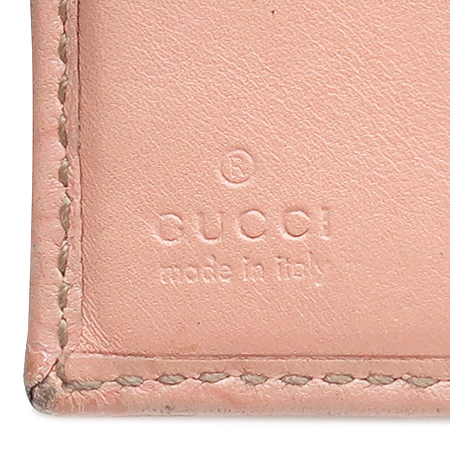 Gucci(구찌) 154255 GG 로고 시마 래더 3단 반지갑