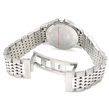 Gucci(구찌) YA126503 G-TIMELESS 라운드 스틸 밴드 여성용 시계