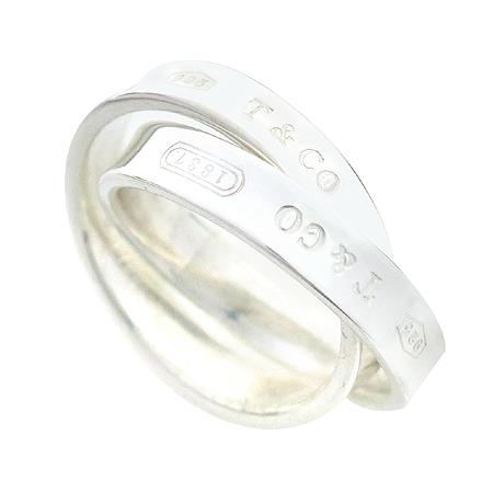 Tiffany(티파니) 실버(925) 인터락킹 더블링 반지-6호