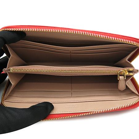 Prada(프라다) 1M0506 리본 장식 빈티지 짚업 장지갑 [강남본점] 이미지4 - 고이비토 중고명품