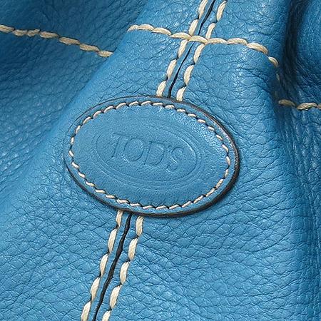 Tod's(토즈) 로고 장식 레더 복조리 숄더백