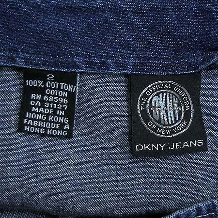 DKNY(도나카란) 청 랩스커트