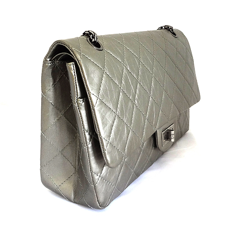 Chanel(샤넬) A37590 2.55 빈티지 라지(L) 사이즈 메탈 체인 숄더백 [부산본점]