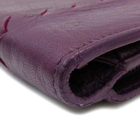 BOTTEGAVENETA(보테가베네타) 114074 퍼플 컬러 위빙 여성용 장지갑 [강남본점]