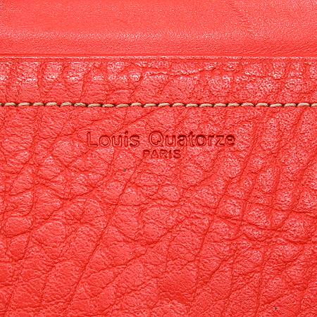Louis_Quatorze (루이까또즈) 로고 래더 3단 반지갑