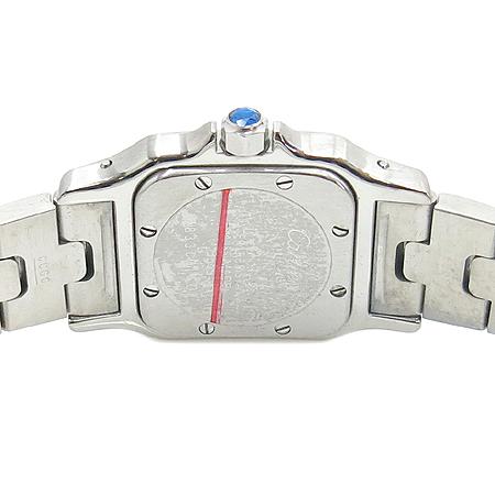 Cartier(까르띠에) W20056D6 산토스 갈베 쿼츠 S사이즈 스틸 여성용 시계 [압구정매장]