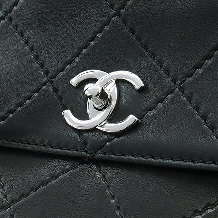 Chanel(샤넬) COCO은장 로고 램스킨 스티치 빅 토트백 [명동매장]