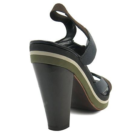 Jilsander(질샌더) 블랙 레더 플랫폼 여성용 구두 [동대문점]