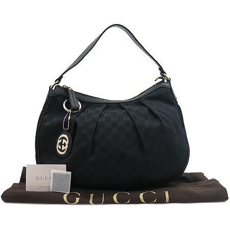 Gucci(구찌) 232955 GG로고 블랙 자가드 숄더백 [명동매장]