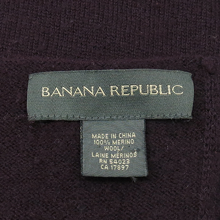 Banana Republic(바나나리퍼블릭) 울 100% 머플러