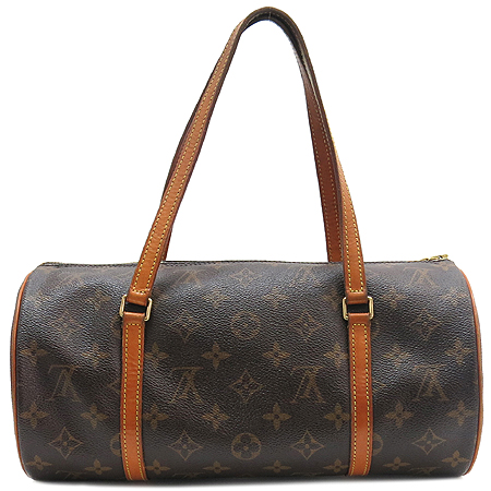 Louis Vuitton(루이비통) M51385 모노그램 캔버스 파필론 30 토트백 + 파우치