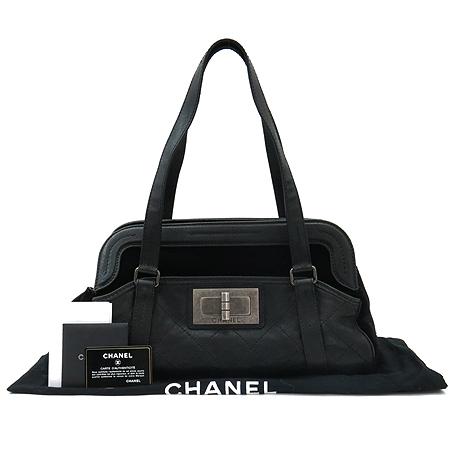 Chanel(샤넬)  A36580Y04705 실버 은장 빈티지 캐비어스킨 숄더백