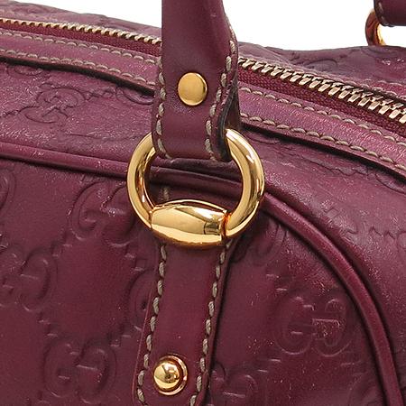 Gucci(구찌) 159399 GG로고 시마 래더 뱀부장식 토트백 [동대문점] 이미지4 - 고이비토 중고명품
