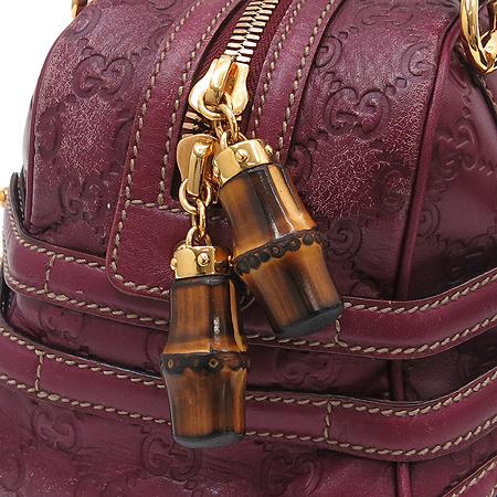 Gucci(구찌) 159399 GG로고 시마 래더 뱀부장식 토트백 [동대문점] 이미지5 - 고이비토 중고명품
