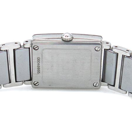 RADO(라도) DiaStar Jubile(쥬빌) 4포인트 다이아 스퀘어 여성 스틸 시계 이미지4 - 고이비토 중고명품