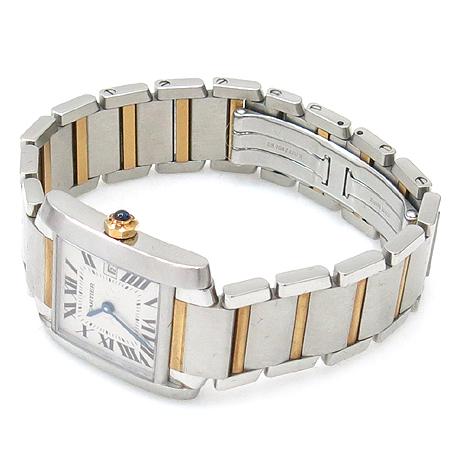 Cartier(까르띠에) 탱크 18K 콤비 M 사이즈 남여공용 시계