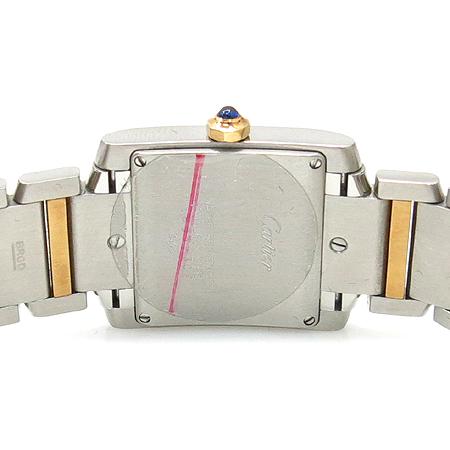Cartier(까르띠에) 탱크 18K 콤비 M 사이즈 남여공용 시계 이미지4 - 고이비토 중고명품