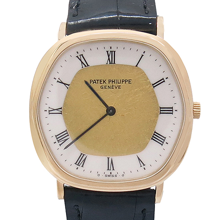 PATEK PHILIPPE (파텍 필립) 18K(750) 금통 오토매틱 가죽밴드 남녀공용 시계 [강남본점]