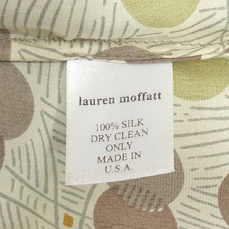 Lauren Moffatt(로렌 모펫) 오픈숄더 실크 티 (MADE IN U.S.A)