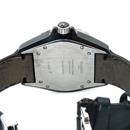 Chanel(샤넬) H0683 J12 38MM 블랙 세라믹 오토매틱 DD클립 남여공용 가죽 밴드 시계