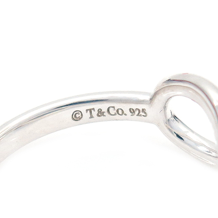 Tiffany(티파니) 925(실버) 뫼비우스 반지 - 6호